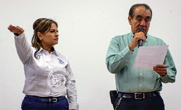 Toma protesta nueva directora del CBTIS 48 de Acayucan