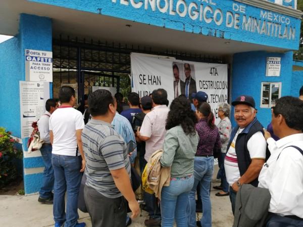 Termina conflicto en el Tecnológico de Minatitlán