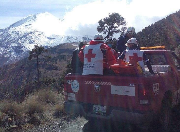 Se accidentan 3 alpinistas en Pico de Orizaba; 1 muere