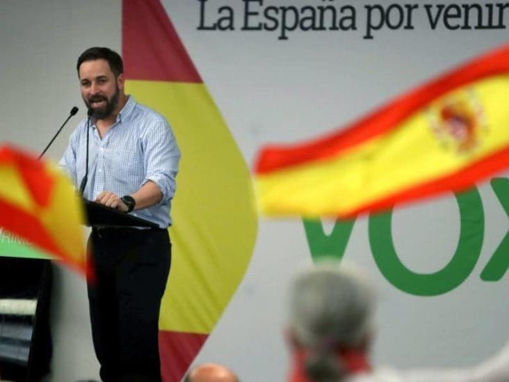 VOX contra AMLO por decir que corrupción llegó de España a Veracruz