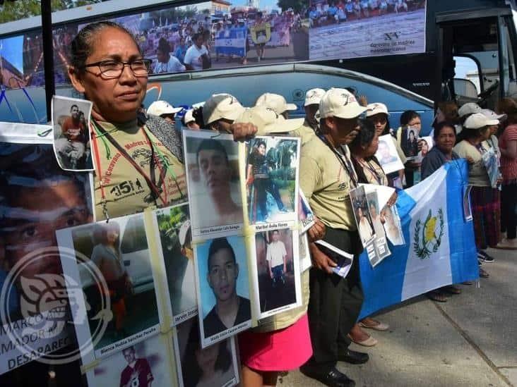 Desaparece por 8 años; hondureña halla a su hijo en cárcel de Veracruz