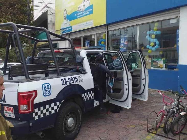 En Boca del Río, asaltan casa de empeño