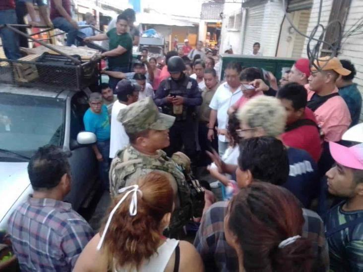 En Veracruz, intentan linchar a presunto violador