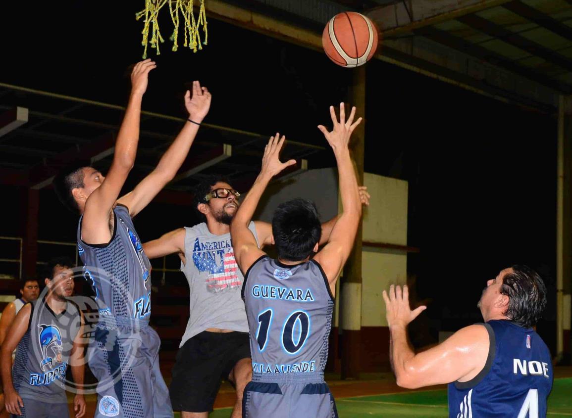 Prosigue la actividad en el Basquetbol Municipal