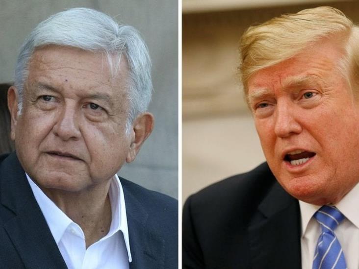 Responde López Obrador a Trump: cooperación sí, intervencionismo no