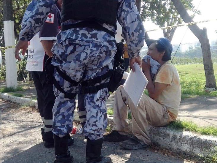 Hieren a hombre a machetazos tras riña en Veracruz