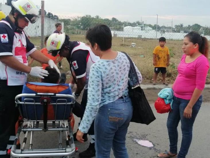 Atropellan a adolescente que intentaba cruzar la calle en Veracruz