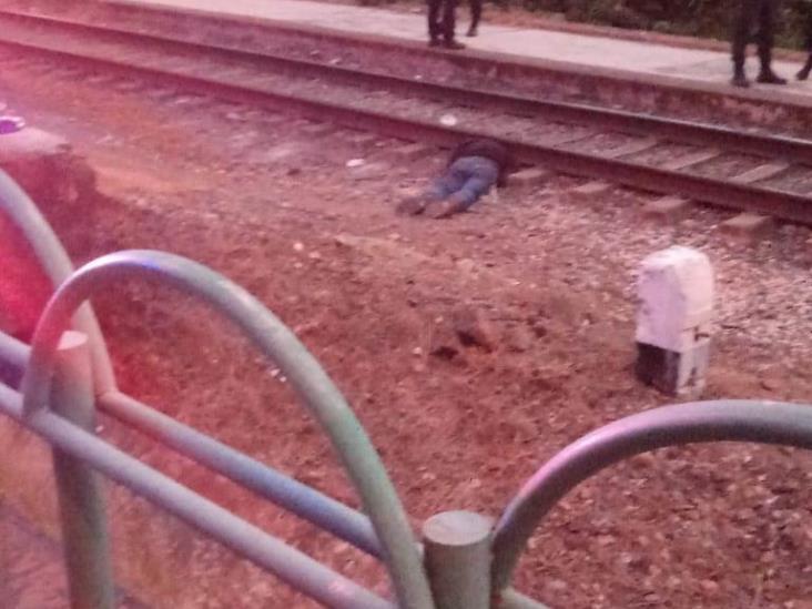 Xalapeño se suicida en vías del tren