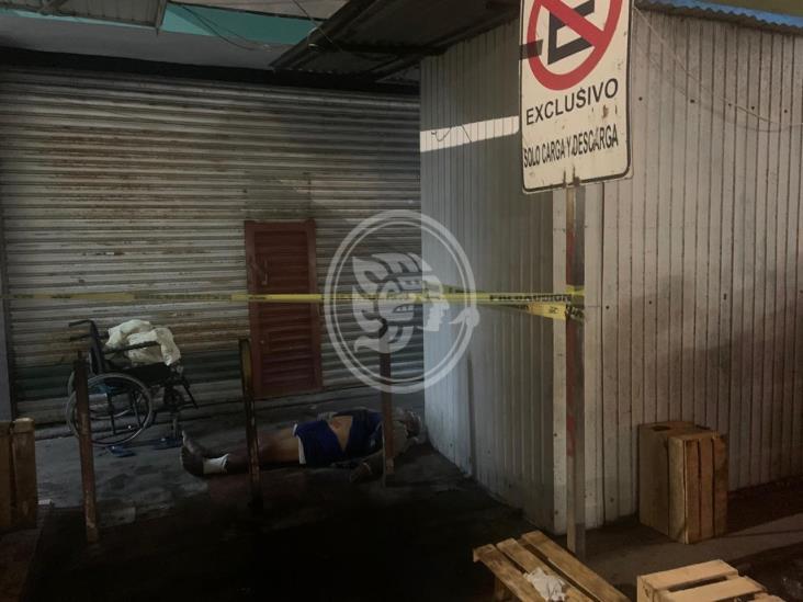 Asesinan a persona discapacitada en zona de mercados