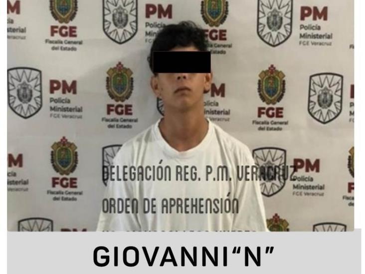 En colonia de Veracruz, detienen a presunto asaltante