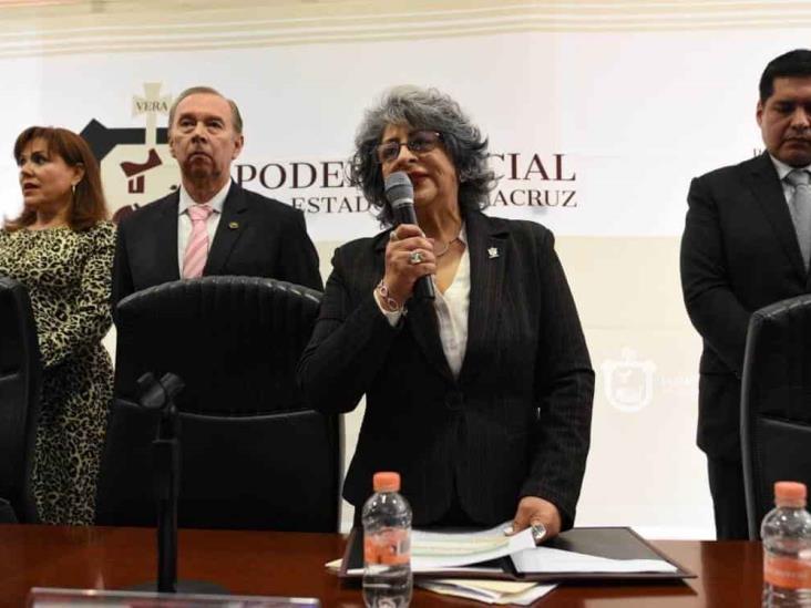 Buscan quitar poder a presidenta del Poder Judicial de Veracruz