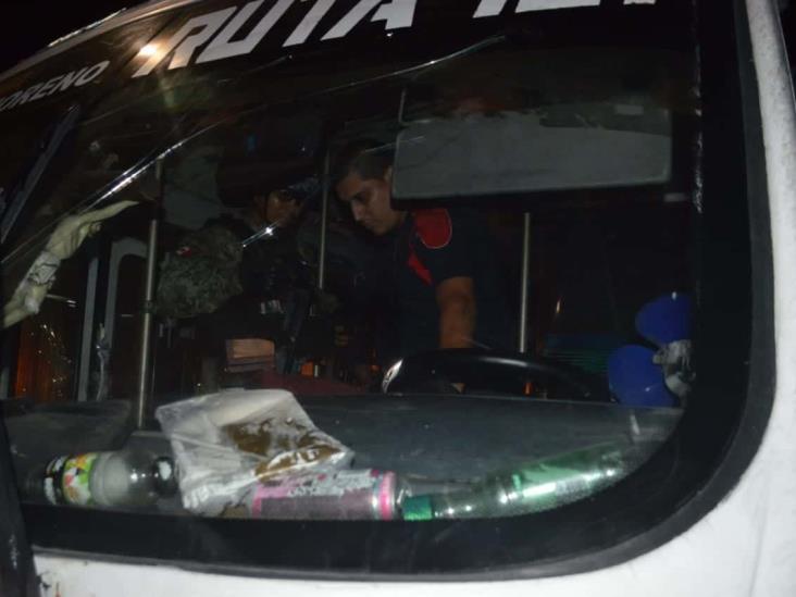 En calles de Veracruz, urbano atropella a pareja de abuelitos