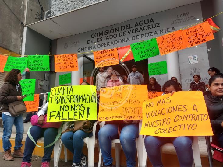 Deuda de CAEV Poza Rica con trabajadores, aún sin saldarse