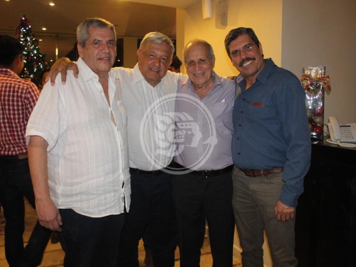 Acabamos con la corrupción en Veracruz: AMLO