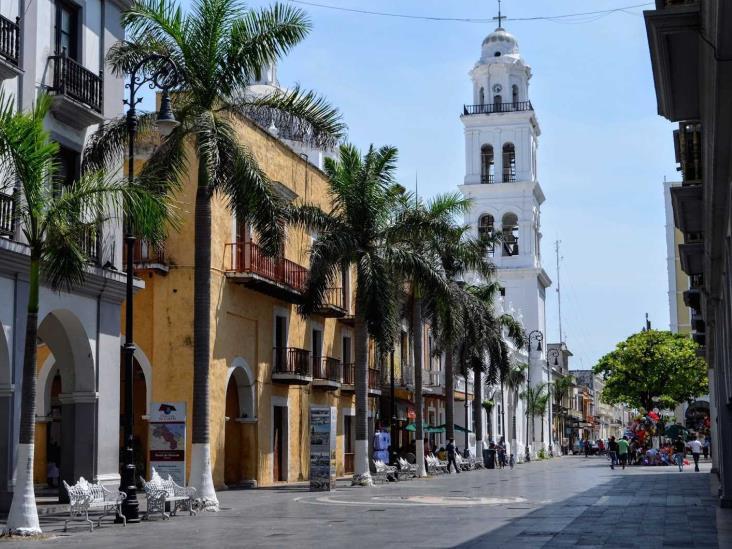 Mínima incidencia delictiva en centro histórico de Veracruz