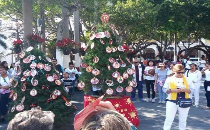 Recuerdan a sus familiares desaparecidos en Veracruz