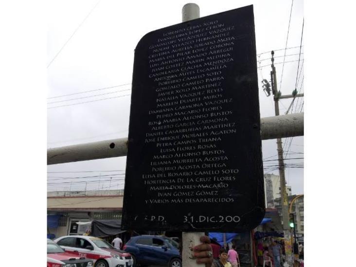 A 17 años, recuerdan a víctimas del mercado Hidalgo en Veracruz
