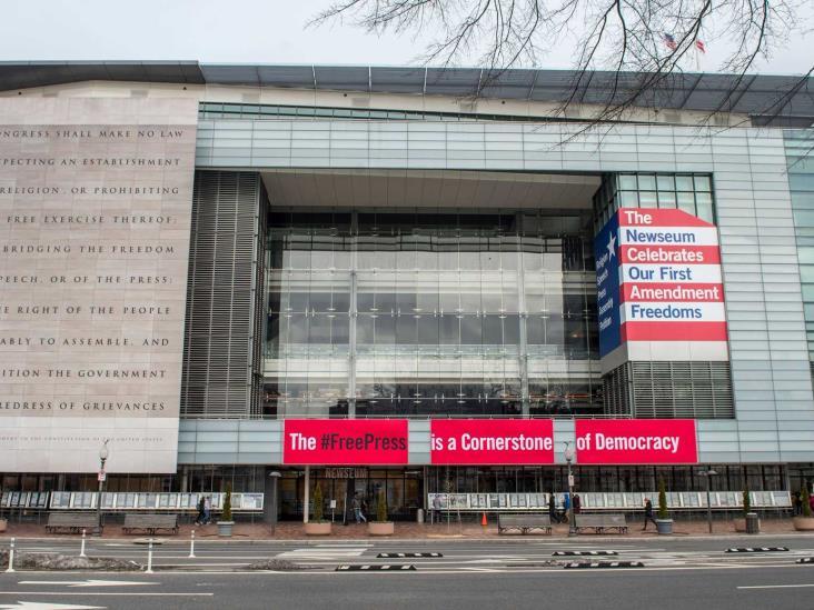 El Newseum o Museo de la prensa se va junto con el 2019