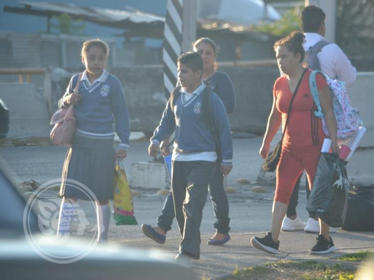 Regresarán a clases más de 36 mil alumnos en Tuxpan