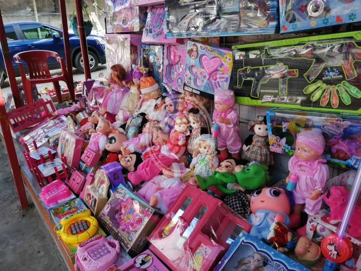 Bajó en Tuxpan la venta de juguetes