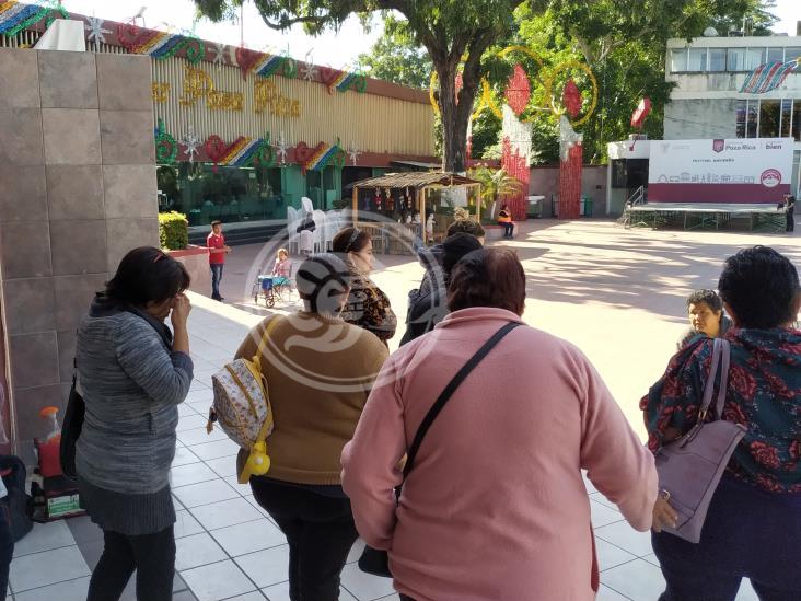 Protestan por falta de agua en colonia de Poza Rica