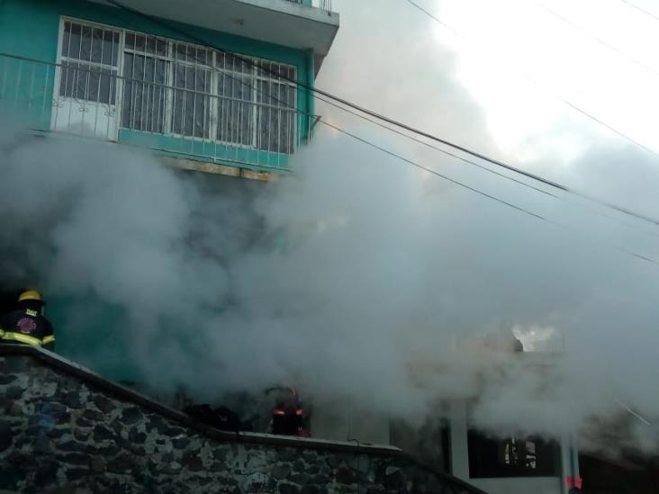 Discapacitada muere atrapada durante incendio de casa en Xalapa