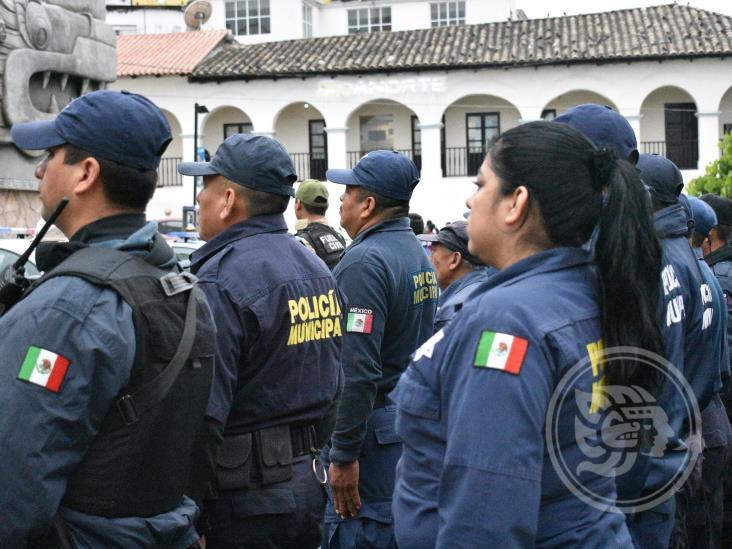 Dan de baja a seis elementos de la Policía Municipal de Papantla