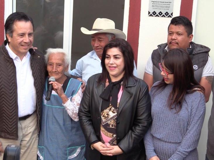 Voluntad y compromiso del Ejecutivo, al entregar viviendas en Chiltoyac