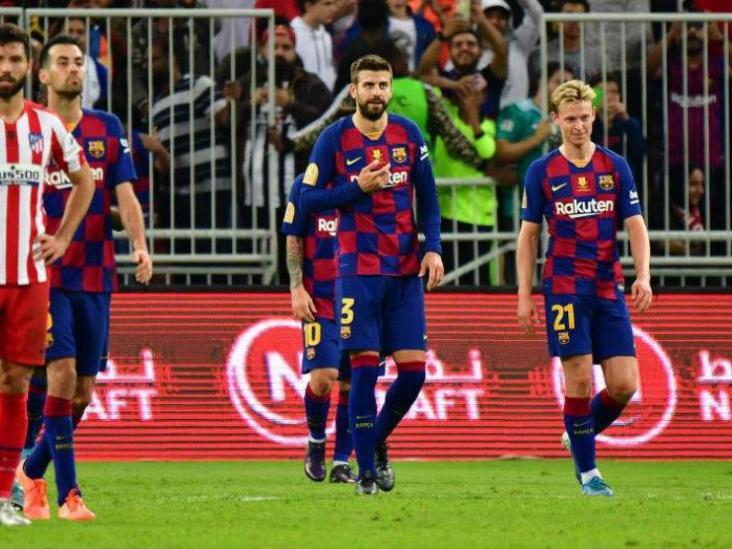 El VAR deja al Barça sin Supercopa; el Atleti va contra Real Madrid