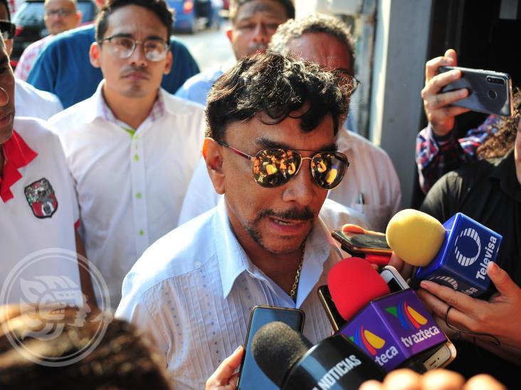 Ofrece Víctor Flores apoyar trenes Maya y Transístmico
