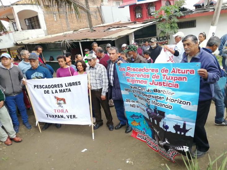 Pescadores veracruzanos piden llamar a cuentas a British Petroleum