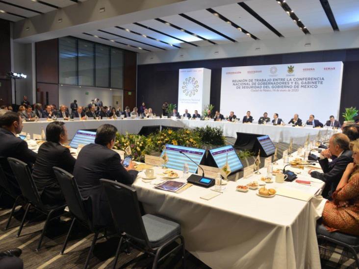 Veracruz suscribe acuerdo de Conago para fortalecer seguridad