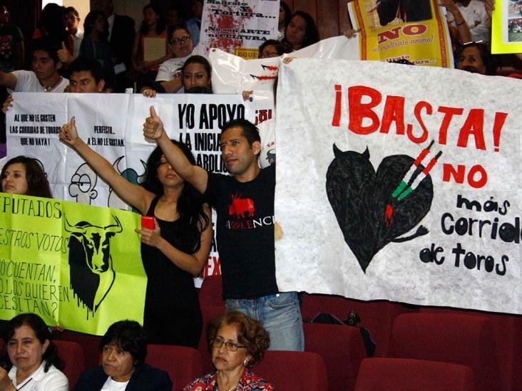 Van por prohibición de corridas de toros en Veracruz