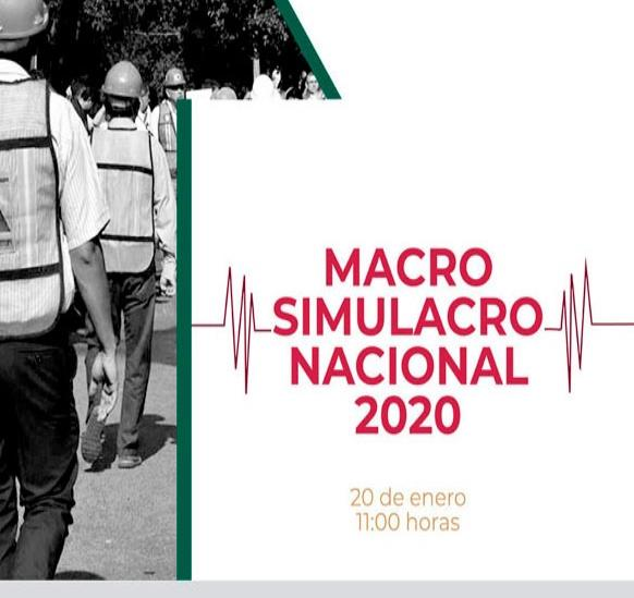Veracruz se suma este lunes a macro simulacro nacional