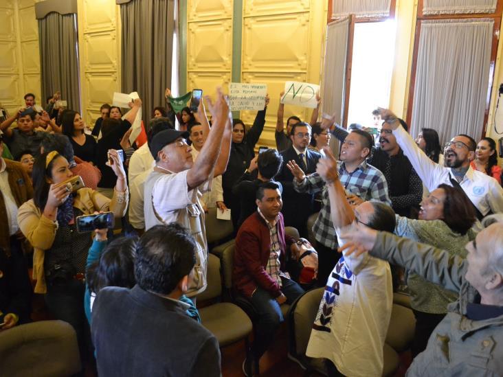 Defiende Iglesia en Veracruz violencia de opositores a foros por la Igualdad