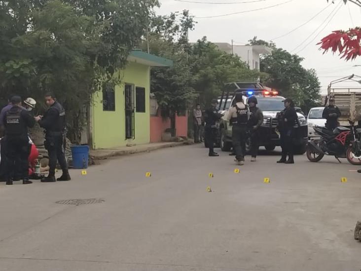 Lo ejecutan afuera de su casa en Martínez de la Torre