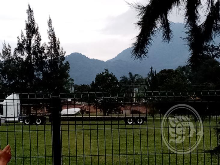 Causa gran expectación llegada del avión Boieng 727 a Orizaba