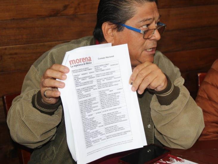 Morena afina método para renovar dirigencia en Veracruz