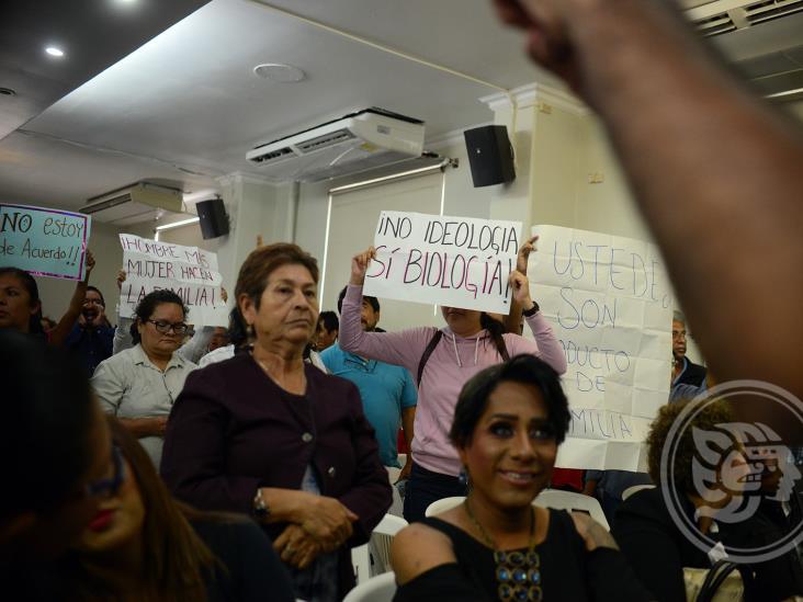 Congreso debe garantizar seguridad en foros sobre reformas al Código Civil