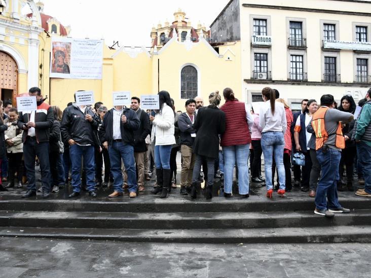 Realizan IP e instituciones macro simulacro en Xalapa