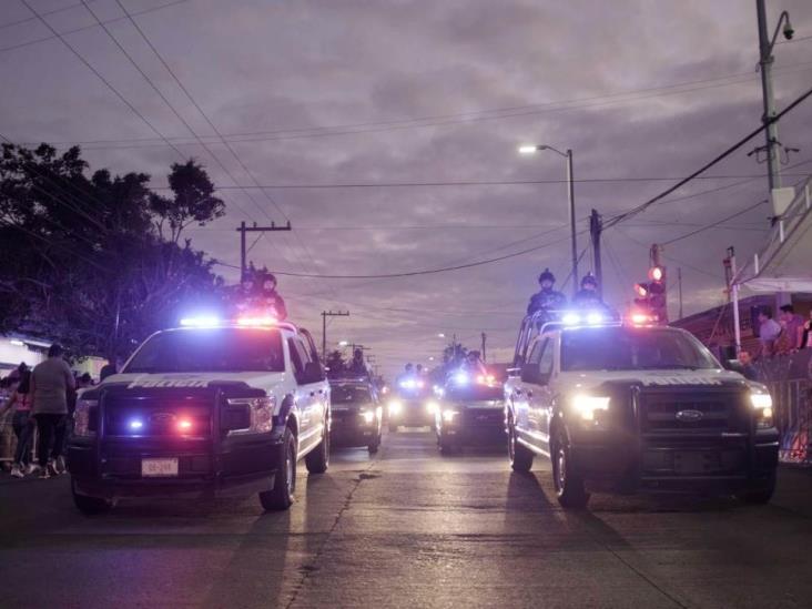 Garantizada, seguridad durante Carnaval de Veracruz