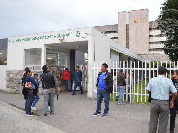 Sigue desabasto en clínicas del IMSS en Orizaba, acusan