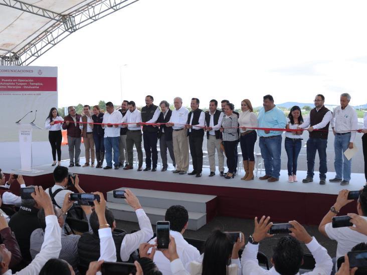 'El norte de Veracruz nunca más quedará aislado del desarrollo'