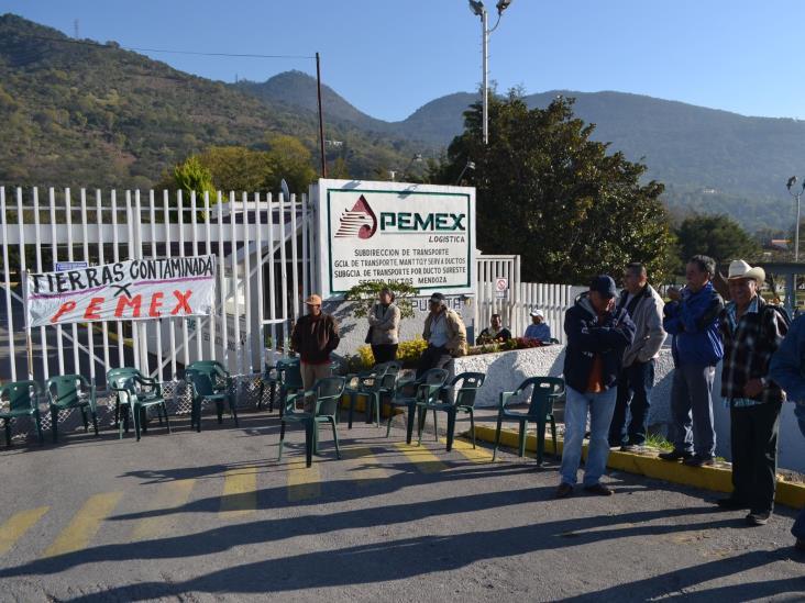 Exigen a Pemex pagos por daños en cultivos de Ixtaczoquitlán