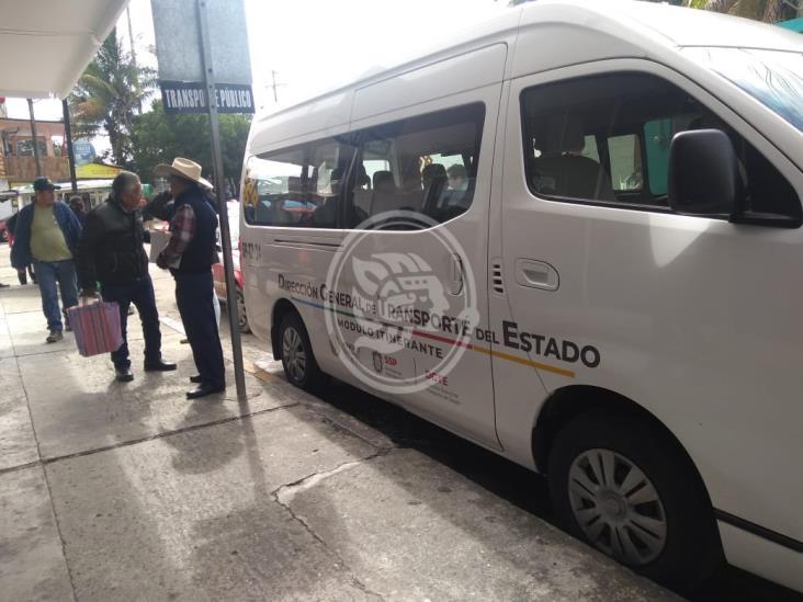 Pedirán en Tuxpan que módulo de Tránsito acuda nuevamente