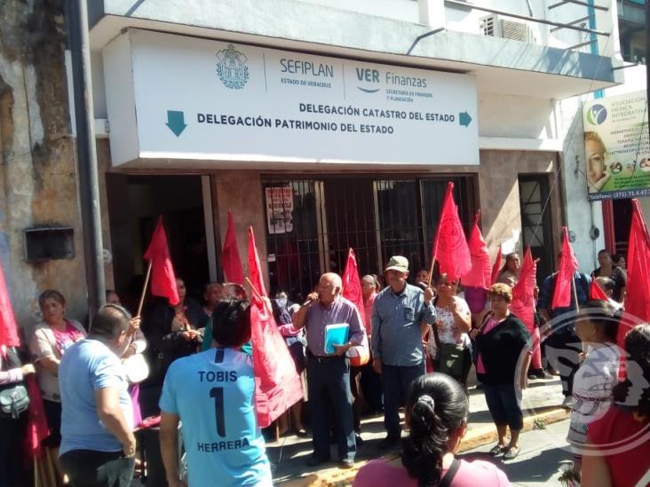 Antorchistas de Córdoba acusan invasión en reserva territorial