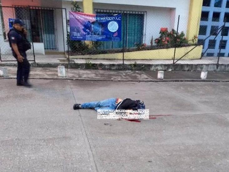 Ejecutan a hombre en calles de Paso del Macho
