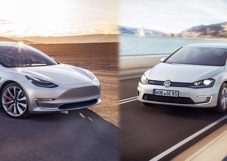 Supera Tesla a Volkswagen con 100 mil  mdd en valor de mercado