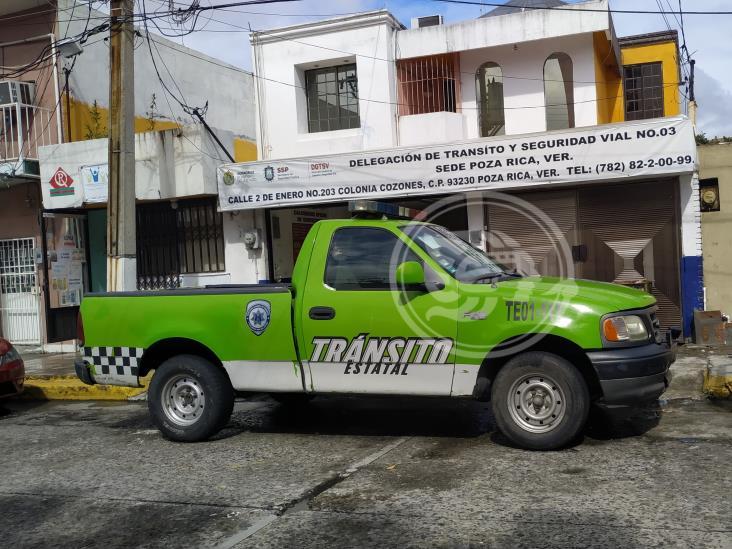 Gobierno estatal debe pagar renta de oficinas de Tránsito en Poza Rica