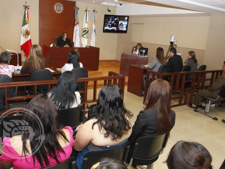 Deplorables salas de Juicios Orales en Veracruz